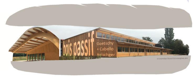 Voir/Revoir – Les sandwiches du bâtiment durable # 2 – Présentation d'un hangar passif en bois à Colmar