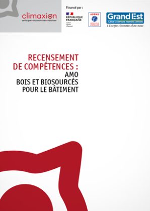 Recensement de compétences : AMO Bois et Biosourcés pour le bâtiment