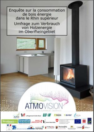 Projet Atmo-VISION : résultats de l'enquête sur la consommation de bois énergie
