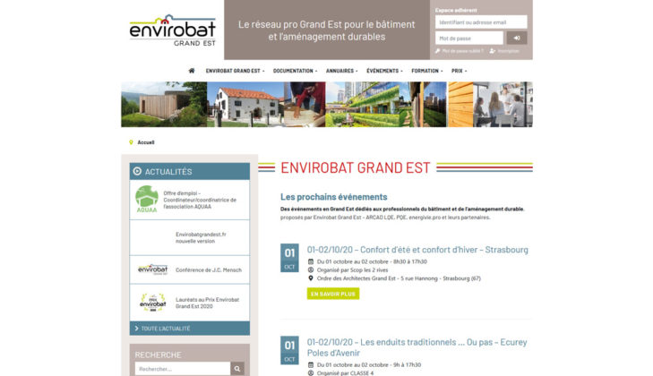 Envirobatgrandest.fr nouvelle version