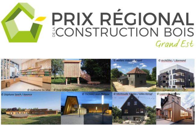 04/01 au 15/03/2021-  Candidatez au Prix Régional de la Construction Bois Grand Est 2021 !