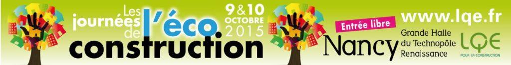 Journée de l'éco-construction 2015