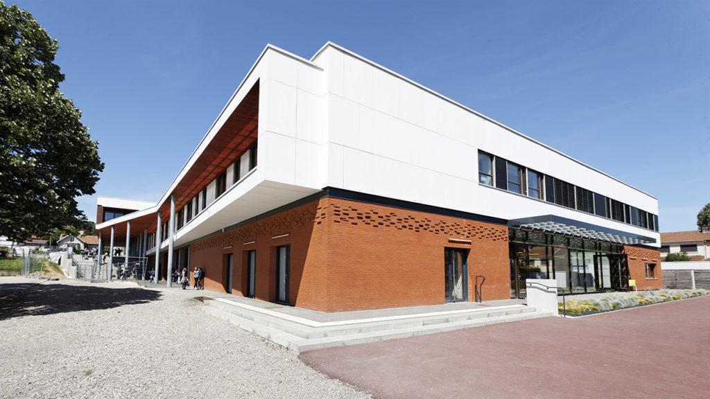 Prix Envirobat 2019 - Restructuration et extension du collège Louis Marin à Custines (54)